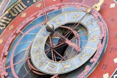 Reloj zodiacal de Zytglogge en Berna, Suiza Imagen de archivo