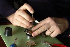 Relojero Fotografía de archivo libre de regalías