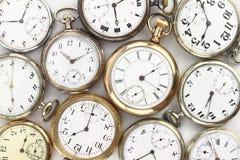 Relojes antiguos Imágenes de archivo libres de regalías