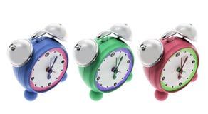 Relojes de alarma Imagenes de archivo