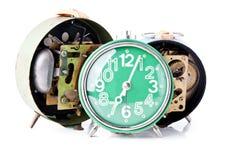 Relojes de alarma viejos Fotografía de archivo
