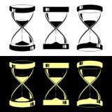Relojes de arena Fotografía de archivo