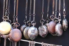 Relojes de bolsillo Imagen de archivo libre de regalías