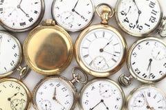 Relojes de bolsillo Foto de archivo