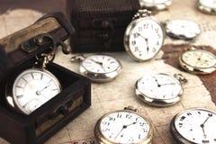 Relojes de bolsillo Imagenes de archivo
