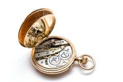 Relojes de bolsillo viejos Foto de archivo