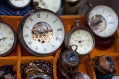 Relojes de la antigüedad Fotos de archivo