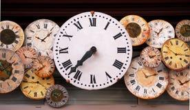 Relojes de la antigüedad Foto de archivo libre de regalías