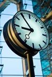 Relojes de la estación Foto de archivo