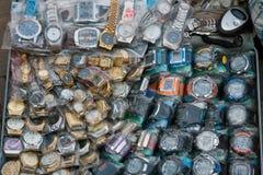 Relojes de la falsificación Imagenes de archivo