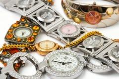 Relojes de la mujer Fotografía de archivo libre de regalías