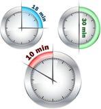 Relojes de la oficina Imagen de archivo libre de regalías