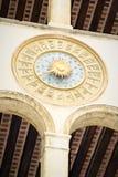 Relojes de la oficina de correos de Venecia Fotos de archivo