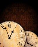 Relojes de la vendimia Fotografía de archivo