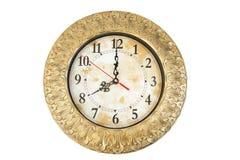 Relojes de oro viejo. Imagen de archivo libre de regalías