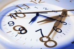 Relojes de pared Foto de archivo libre de regalías