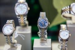 Relojes de Rolex Fotografía de archivo libre de regalías