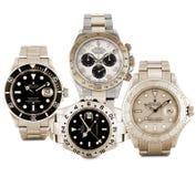 Relojes de Rolex Imágenes de archivo libres de regalías