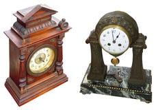 Relojes de vector antiguos Fotografía de archivo libre de regalías