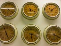 Relojes del concepto del vintage Fotos de archivo libres de regalías
