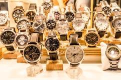 Relojes del lujo Imagen de archivo libre de regalías