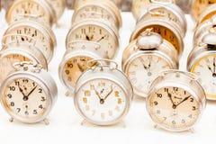Relojes del vintage Foto de archivo libre de regalías