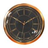 Relojes del vintage del oro Foto de archivo