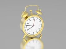 relojes del vintage del oro viejo del ejemplo 3D libre illustration