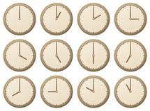 Relojes/ilustración del vector Foto de archivo
