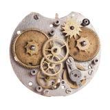 Relojes mecánicos Fotografía de archivo libre de regalías