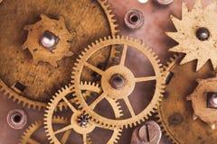 Relojes mecánicos Foto de archivo