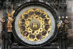 Relojes medievales (parte adicional) Fotografía de archivo