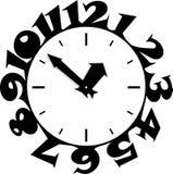 Relojes pegajosos Fotos de archivo libres de regalías