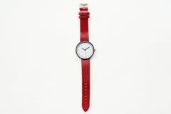 Relojes rojos Foto de archivo libre de regalías