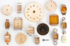 Relojes viejos Fotos de archivo libres de regalías