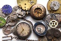 Relojes viejos foto de archivo