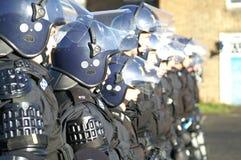 Relpolitie-eenheid, stad het controleren misdaad en asociaal gedrag stock afbeeldingen