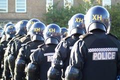 Relpolitie-eenheid, stad het controleren misdaad en asociaal gedrag stock fotografie