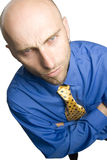 Reluctant businessman Royalty Free Stock Photography