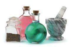 Remède de fines herbes Image stock