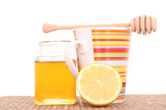 Remède de froid et de grippe Photos stock