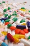 Remèdes divers colorés Image stock