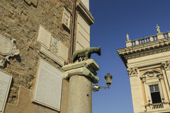 &Rem de Romul, Roma Fotos de archivo libres de regalías