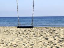 Rem på stranden Fotografering för Bildbyråer