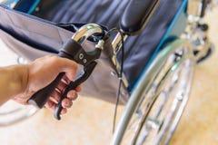 Rem van rolstoel stock afbeelding
