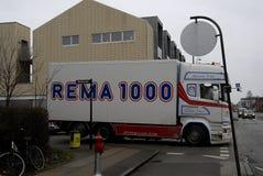 REMA 1000 免版税库存照片