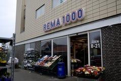 REMA 1000 图库摄影