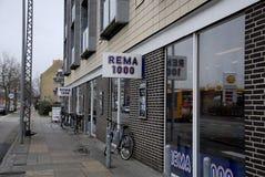 REMA 1000 库存照片