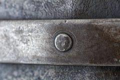 Remache del metal fotografía de archivo