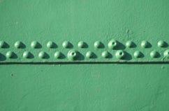 Remaches en una nave Foto de archivo